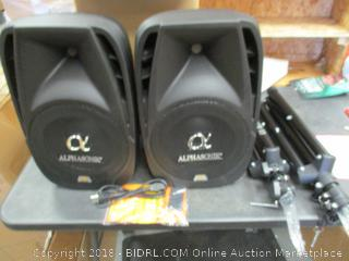 Alphasonik Speakers
