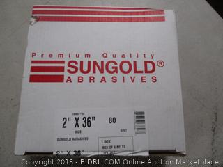 Sungold Abrasive Belt See Pictures