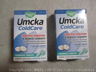 2-Umcka Cold Care  Chewable Tablets Sealed