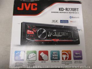 JVC CD Receiver Bluetooth