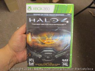 XBOX 360 HALO 4 Sealed