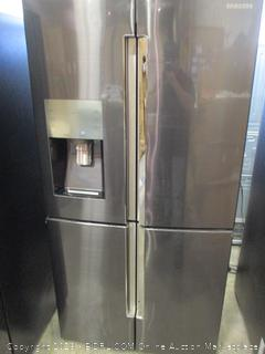 Samsung Refrigerator  Power On, See Pictures