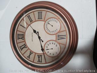 Acu Rite Wall Clock