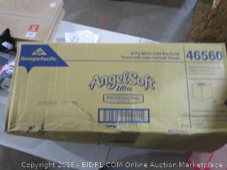 Angel Soft  2 Ply White cube Box Facial Tissue