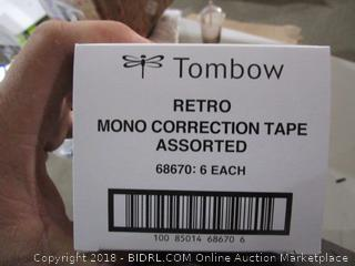 Retro Mono Correction Tape Assorted
