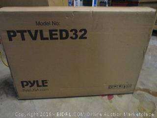 PYLED32  32 LED HD Monitor Powers On