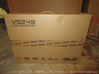 VS248 LCD Monitor Powers Up See Pictures