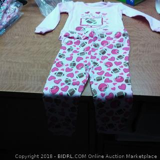 Girls 2 Piece infant 24 mos