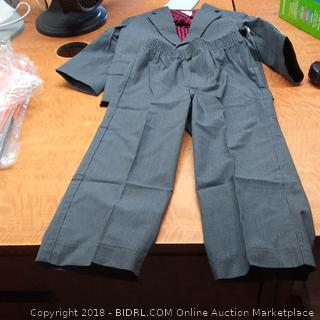 Boys Suit and Shirt  2T/2