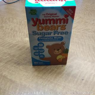 Yummi Bears Sugar Free Complete Multi