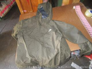 White Sierra Hooded Jacket 2XL
