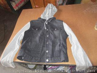 Love Tree Hooded Jacket Denim Med