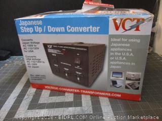 Japanese Step Up/ Down Converter