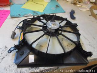 TYC 98-02 HD Accord V6 Fan Assy