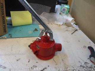 Piston Hand Pump