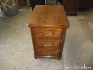 Hooker Night Stand  Corner Damage See Pictures