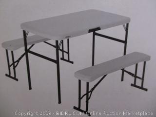 Lifetime Recreation Table Set