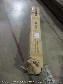 Cal King Steel Platform Bed