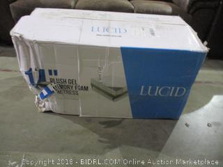 "Lucid 14"" Plush Gel Memory Foam Mattress Full"