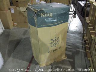 """Zinus 12"""" Gel Memory Foam Mattress King"""