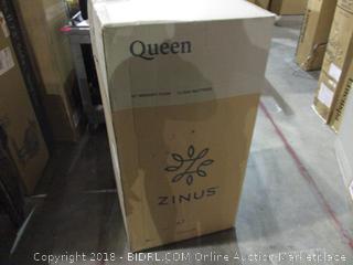 "Zinus Queen 12"" Memory Foam Cloud Mattress"