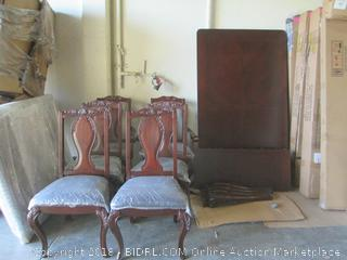 6 Northshore Upholstered Chair / damaged chair See Pictures