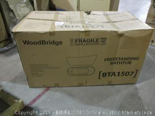 Wood Bridge Freestand Bathtub