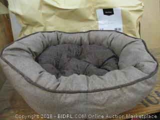 Two-Petspaces Faux Linen High-Low Beds