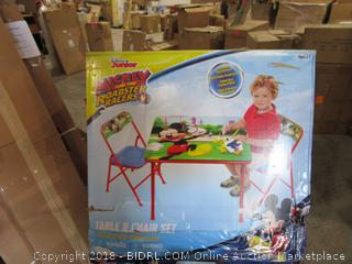 Disney Junior Table & Chair Set