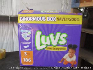 Luvs Diapers Size 3