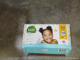 Seventh Generation Free and Clear Wipes