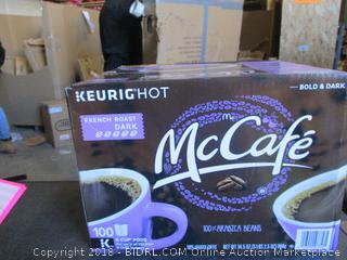 Keurig Hot McCafe French Roast Dark K-Cups