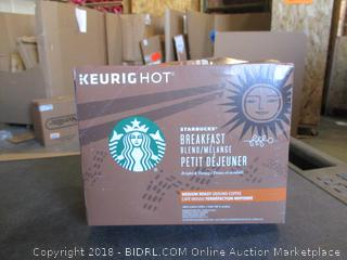 Starbucks Breakfast Blend K-Cups (See Picture)