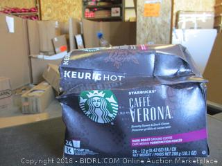 Starbucks Cafe Verona K-Cups (Damaged)