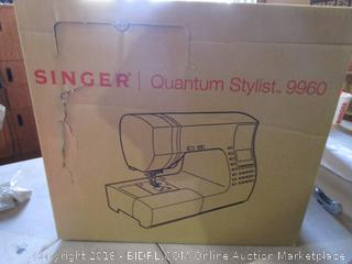 Singer Quantum Stylist 9960 Powers On