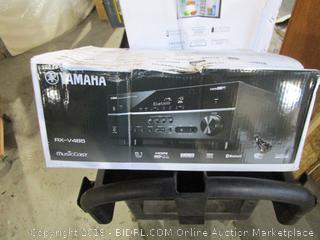Yamaha Music Cast Natural Sound AV Receiver  Powers On