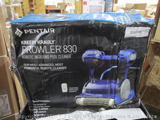 Pentair Kreepy Krauly Prowler 830 Robotic Inground Pool Cleaner See Pictures