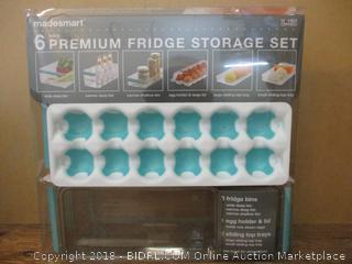6 Premium Fridge Storage Set Factory Sealed