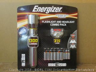 Energizer Flashlight and Headlight Combo Pack