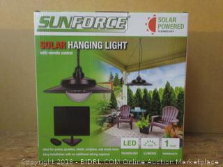 Sunforce Solar Powered Hanging Light