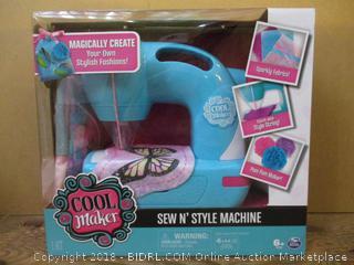 Sew N' Style Machine  Factory Sealed
