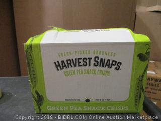 Harvest Snaps Green Pea White Cheddar