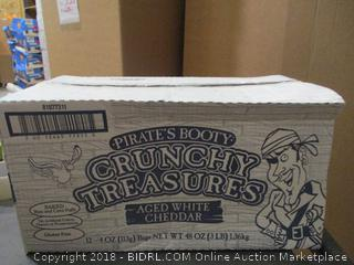 Pirates Booty Crunchy Treasures Aged White Cheddar