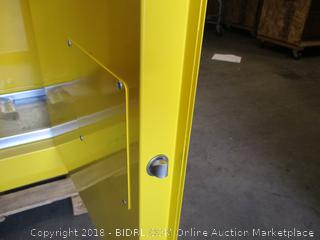 Justrite Flammable Liquid Storage Cabinet (Retails at $1,055)