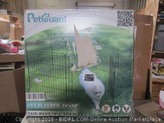 "Pet Guard Play Pen 24""x24"""