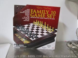 Family 10 Game Set