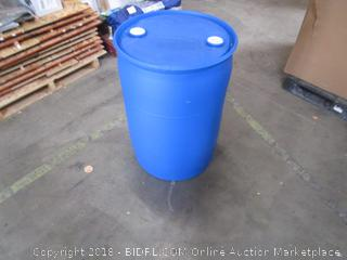 Emergency 55 Gal Water Barrel Closed Top