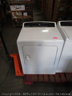 Whirlpool Dryer (not tested, powers on)