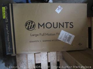 Mounts Large Full Motion TV