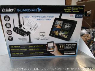 Uniden Wireless Video Monitor